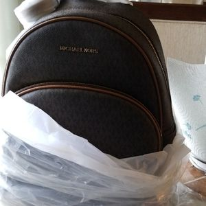 NEW Michael Kors large Backpack